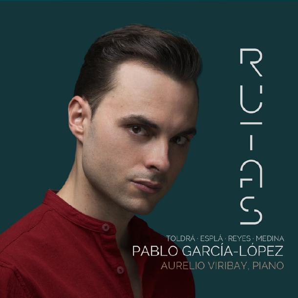 Carátula del álbum Rutas, del tenor Pablo García-López