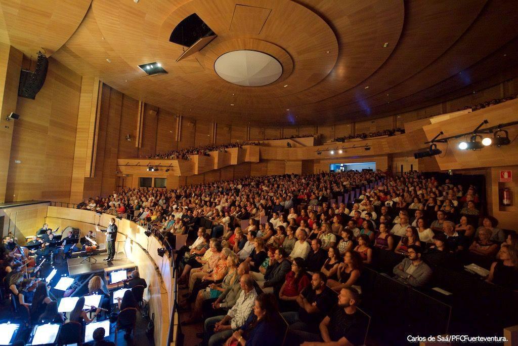 Sala principal del Palacio de Congresos de Fuerteventura