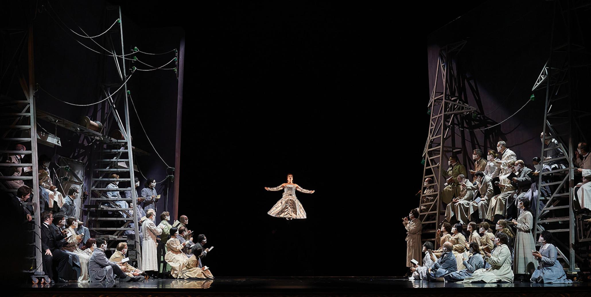 """Un momento de """"Les contes d'Hoffmann"""" del Liceu de Barcelona ©David Ruano"""