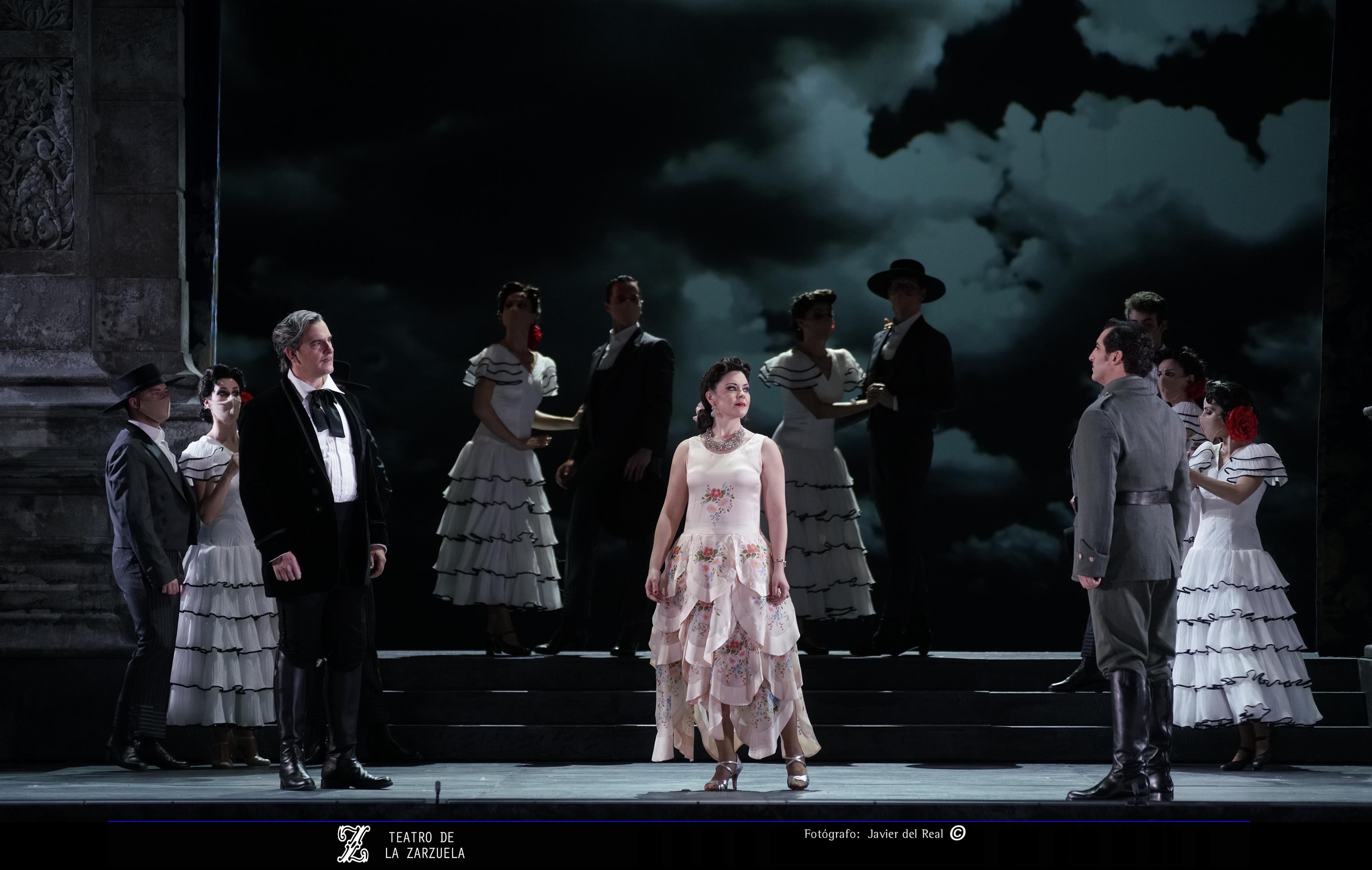 Rocío Ignacio como la duquesa Carolina