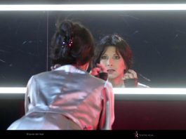 """Nicola Beller Carbone, intérprete del estreno mundial de la ópera """"Marie"""", en el ensayo general."""