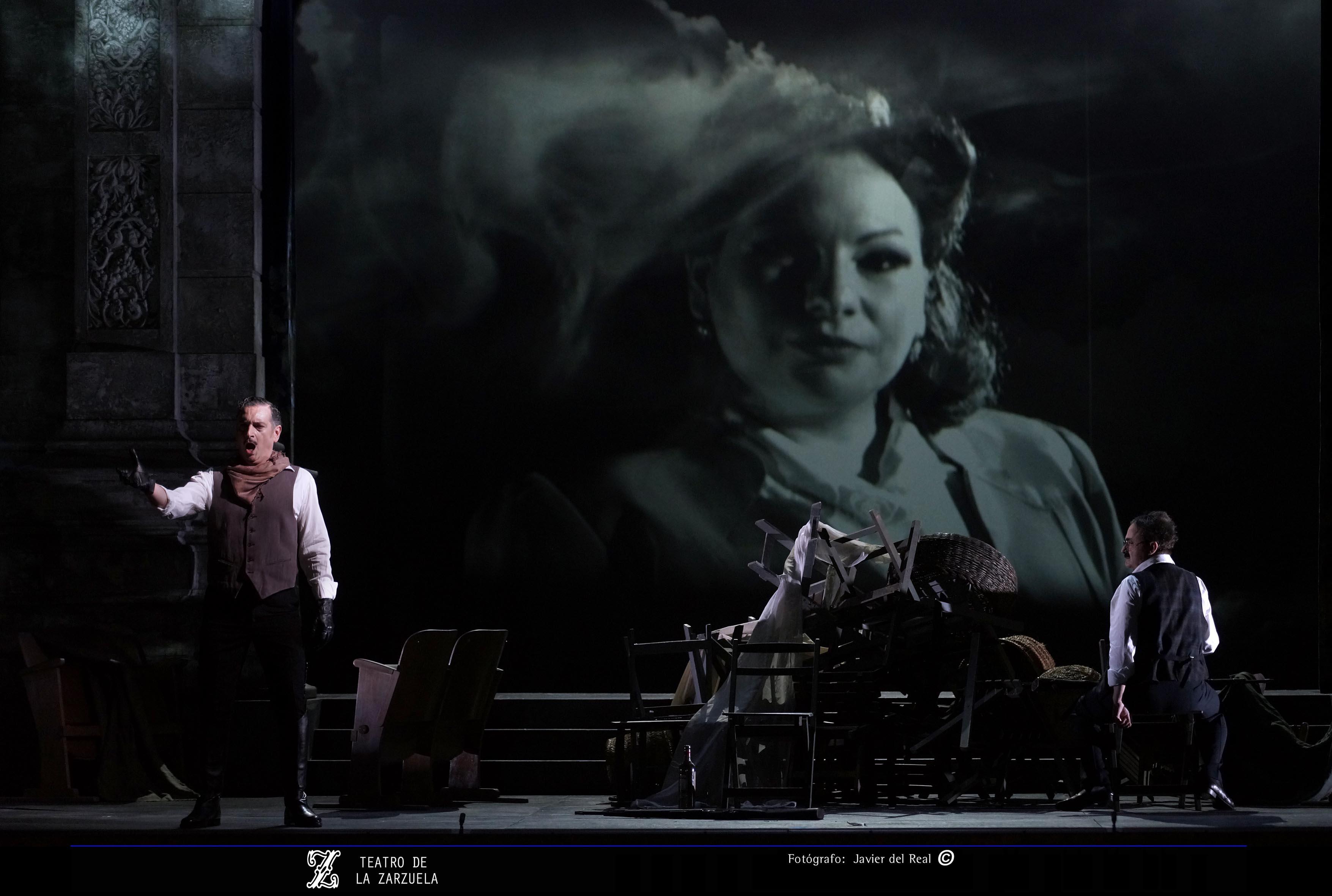Javier Franco en Luisa Fernanda