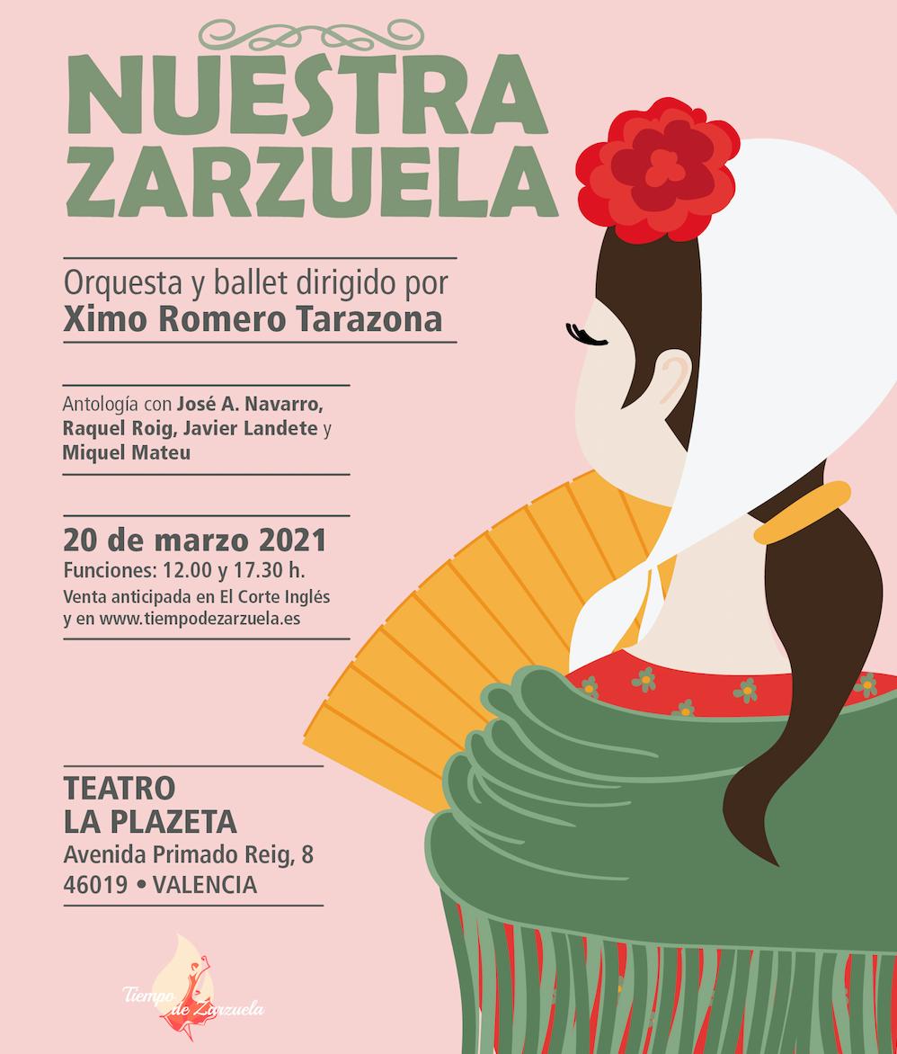Tiempo de Zarzuela en Valencia