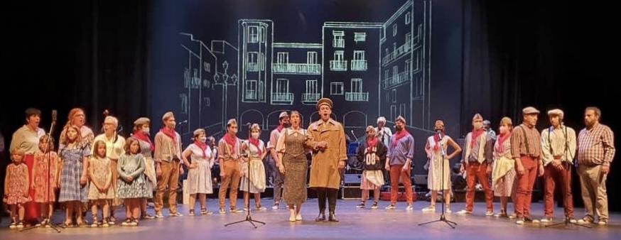 Andorra con la zarzuela Cançó d'amor i de guerra