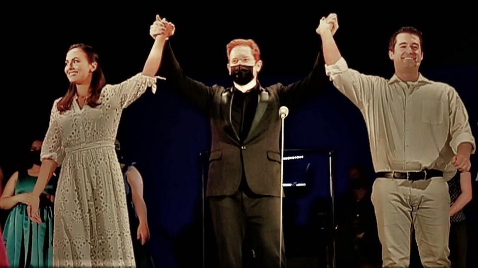 Isaberl Leonard, Ramón Tebar y Alex McKissick