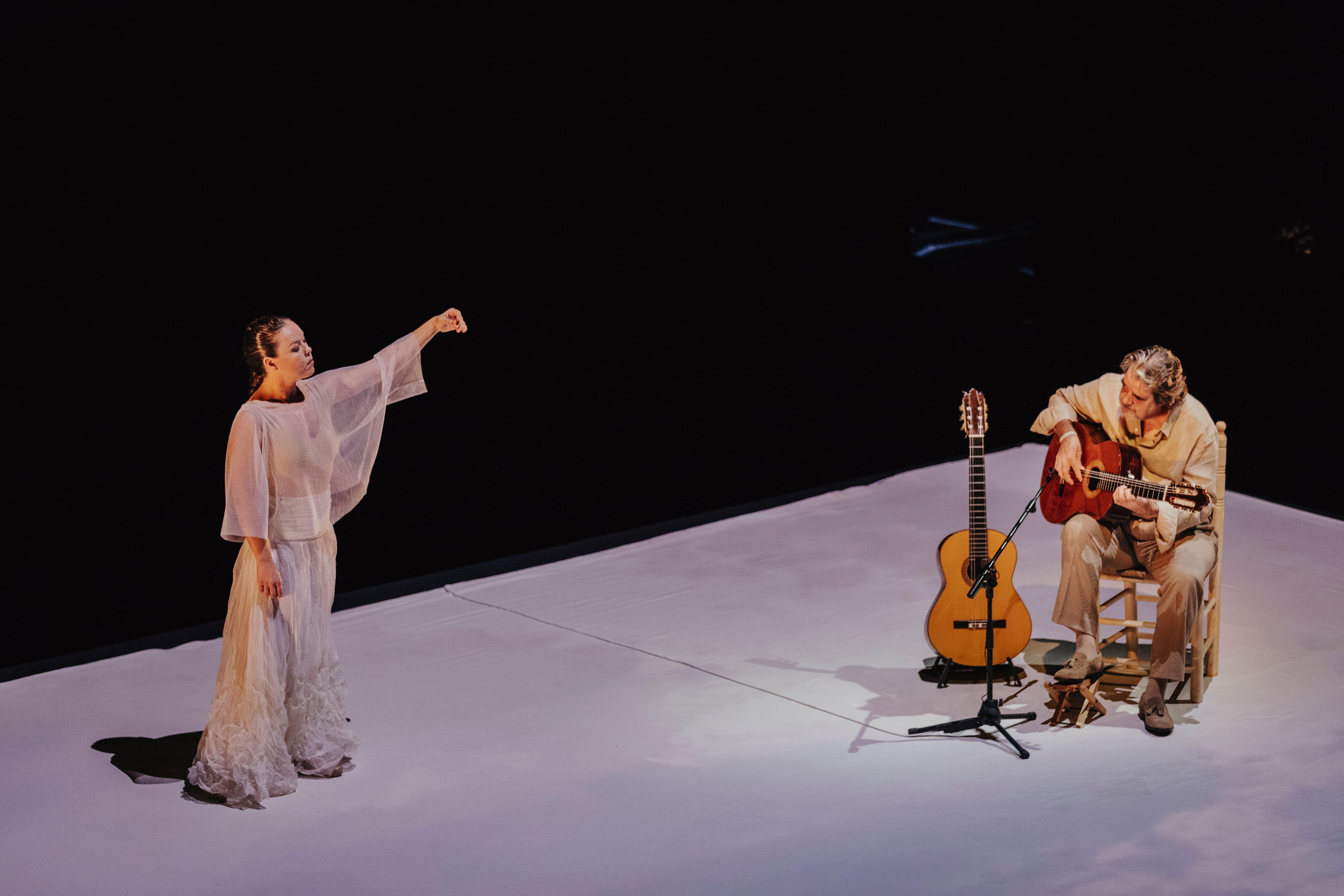 Rocío Molina y Rafael Riqueni en Inicio (Uno)_Foto-Oscar Romero