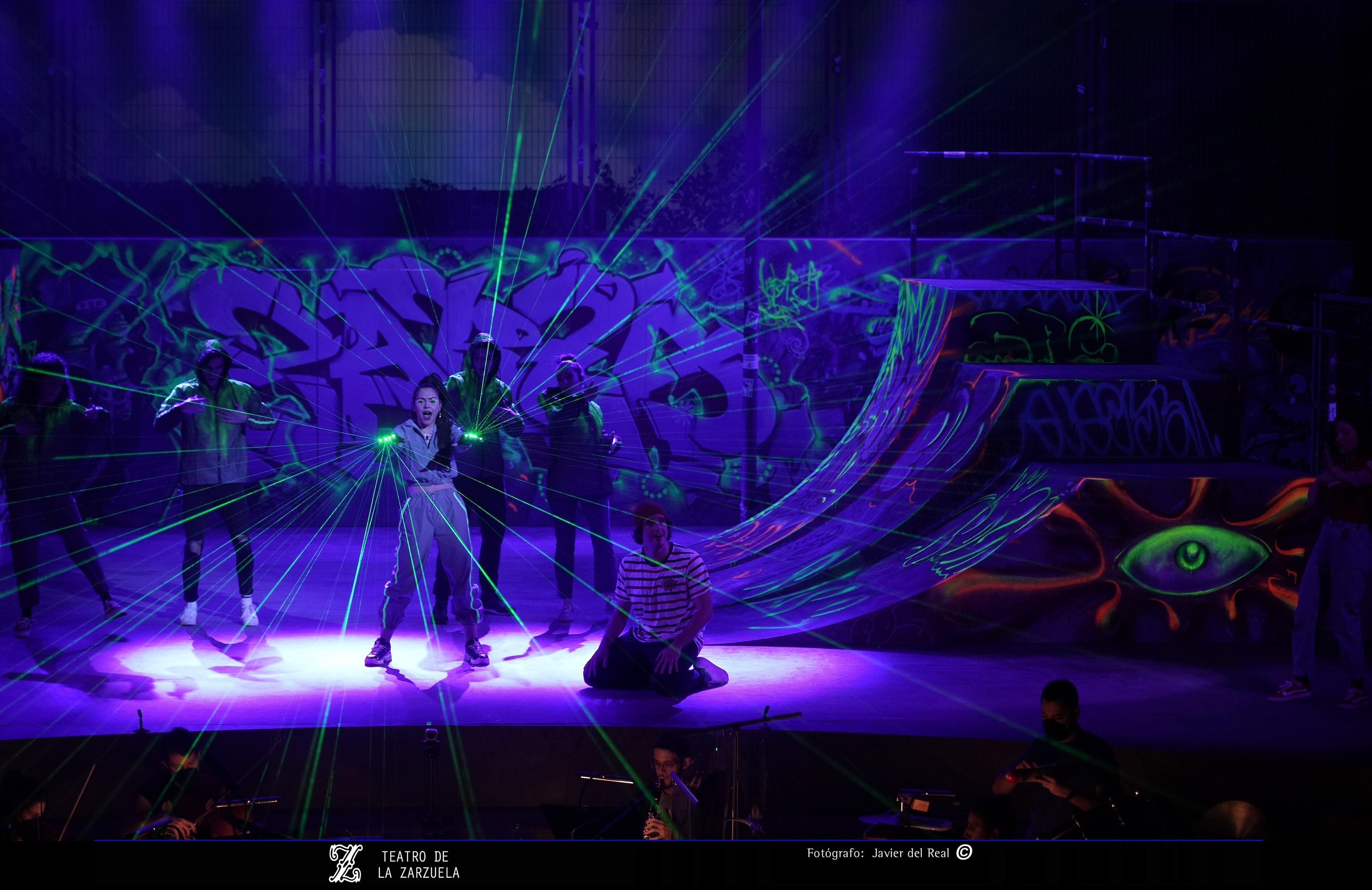 Amores en Zarza en el Teatro de la Zarzuela, nueva producción del Proyecto Zarza / Foto: Javier del Real