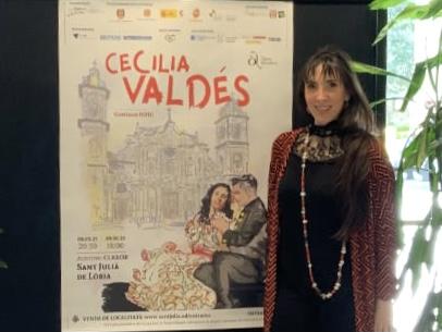 Cartel y ficha artística de Cecilia Valdés en Andorra