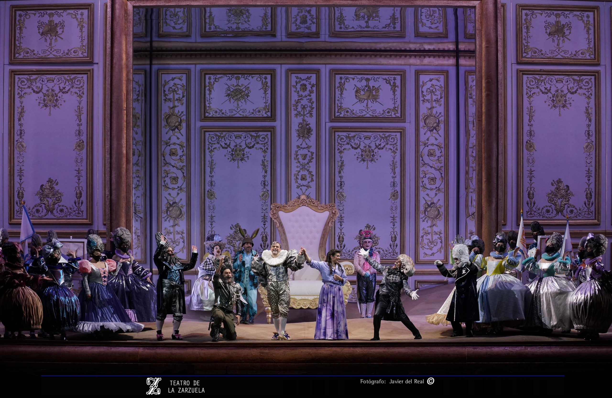 """Un instante en """"El Rey que rabió"""" en el Teatro de la Zarzuela"""