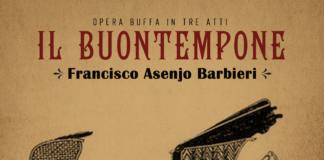 """Cartel publicitario del estreno mundial de """"Il buontempone"""""""