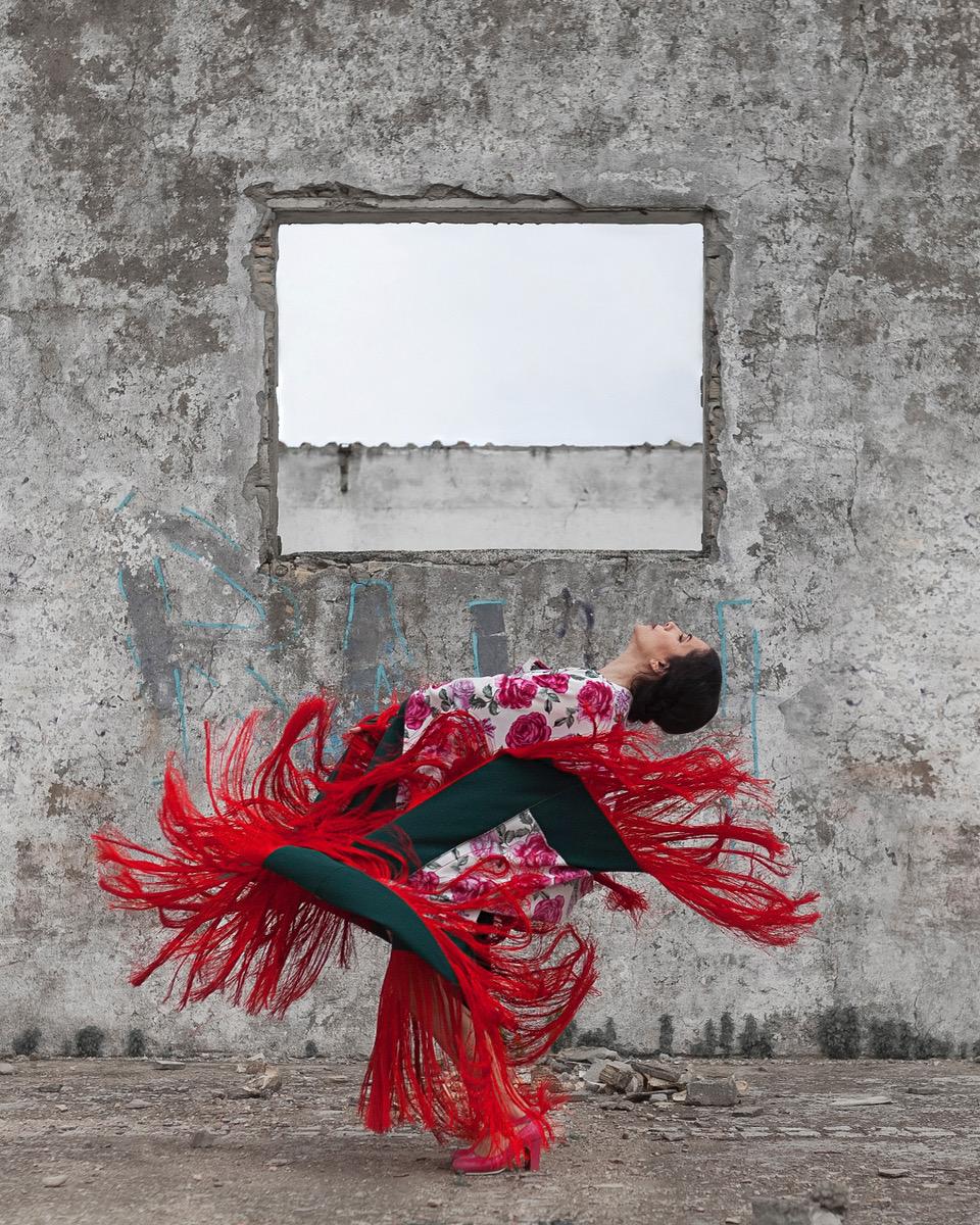 Eva Yerbabuena en Veranos de la Villa. Foto Erregiro (C)
