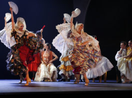 Escena de La Bella Otero, nueva creación del Ballet Nacional de España (C) María Alperi