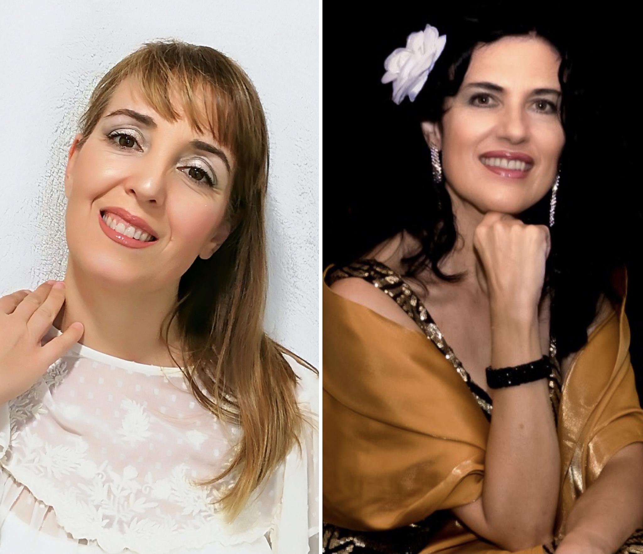 Sonia Martínez Palomino (soprano) y Ana María Ramos (contralto)