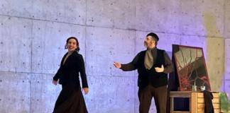 Dyhana Arom y Leonardo Villeda