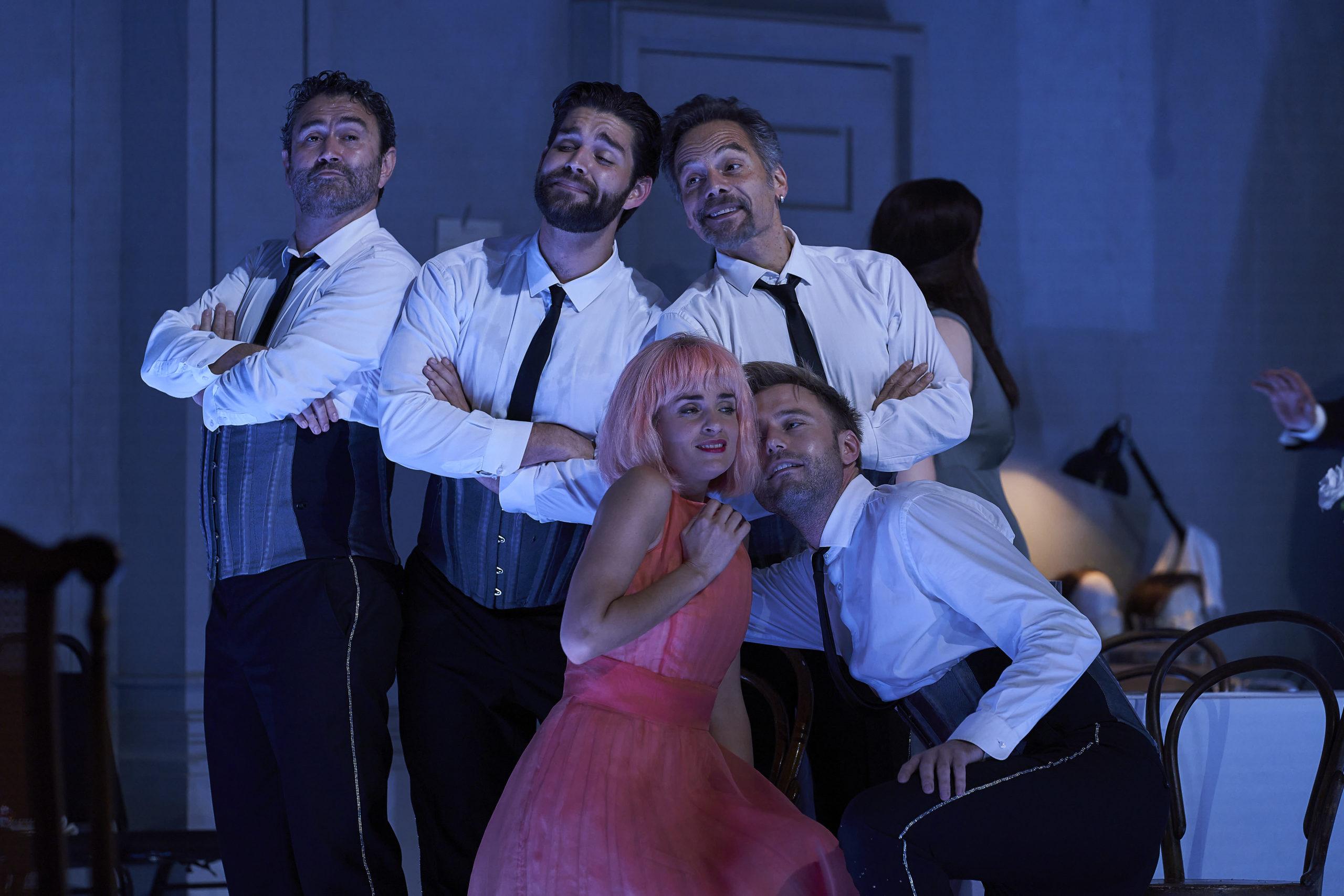 Zerbinetta y sus cuatro amantes ©David Ruano