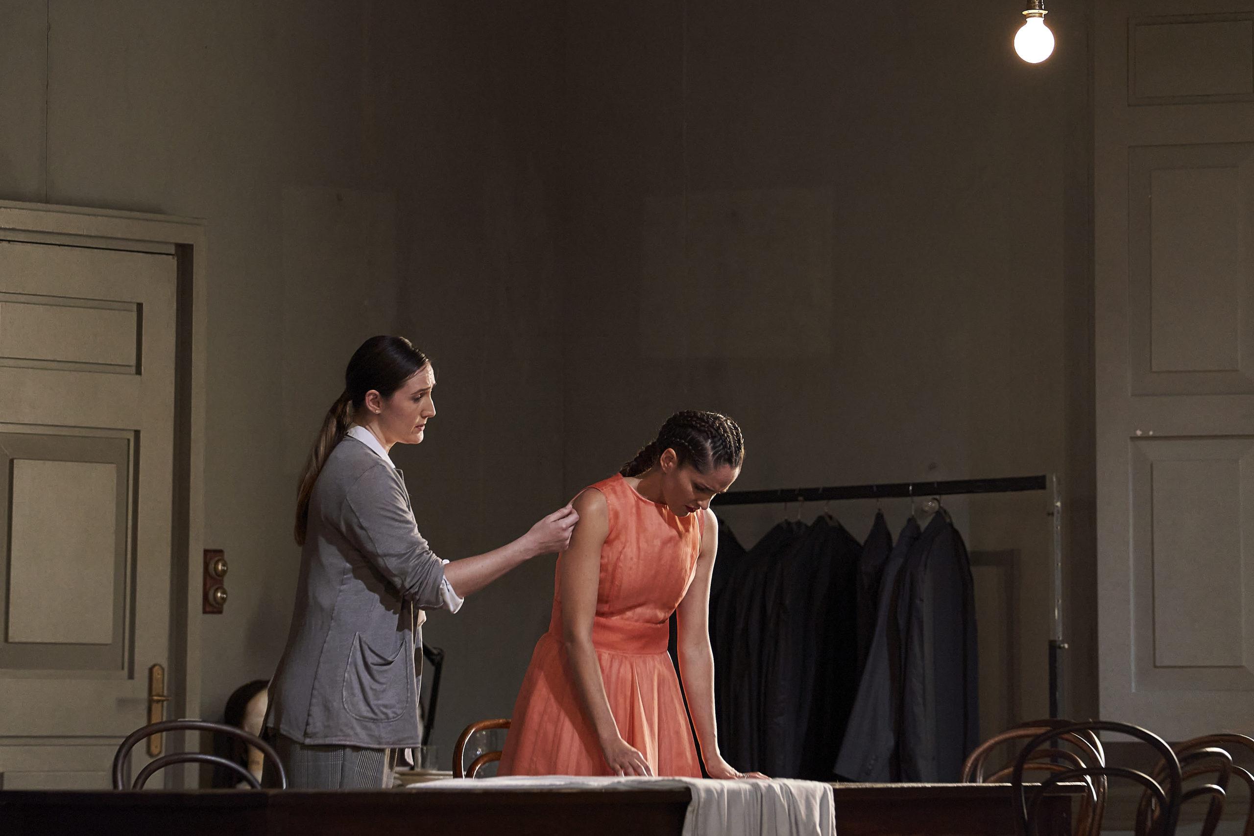 La compositora y la actriz que representará a Zerbinetta ©David Ruano