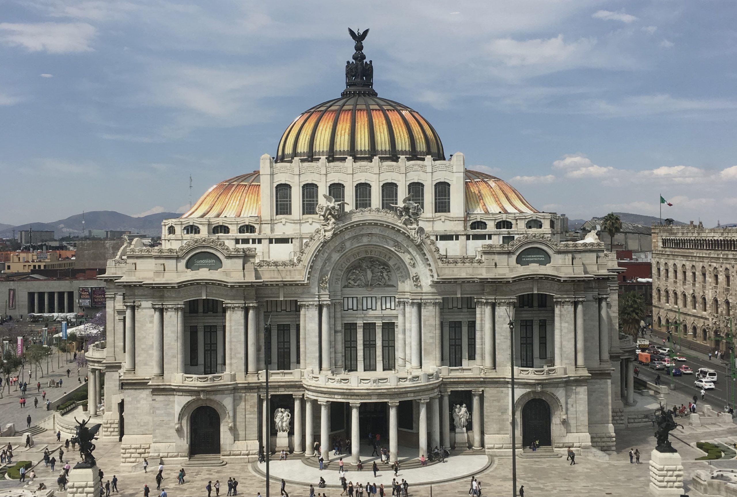 El Palacio de Bellas Artes (Ciudad de México) Foto: ©Fdoble