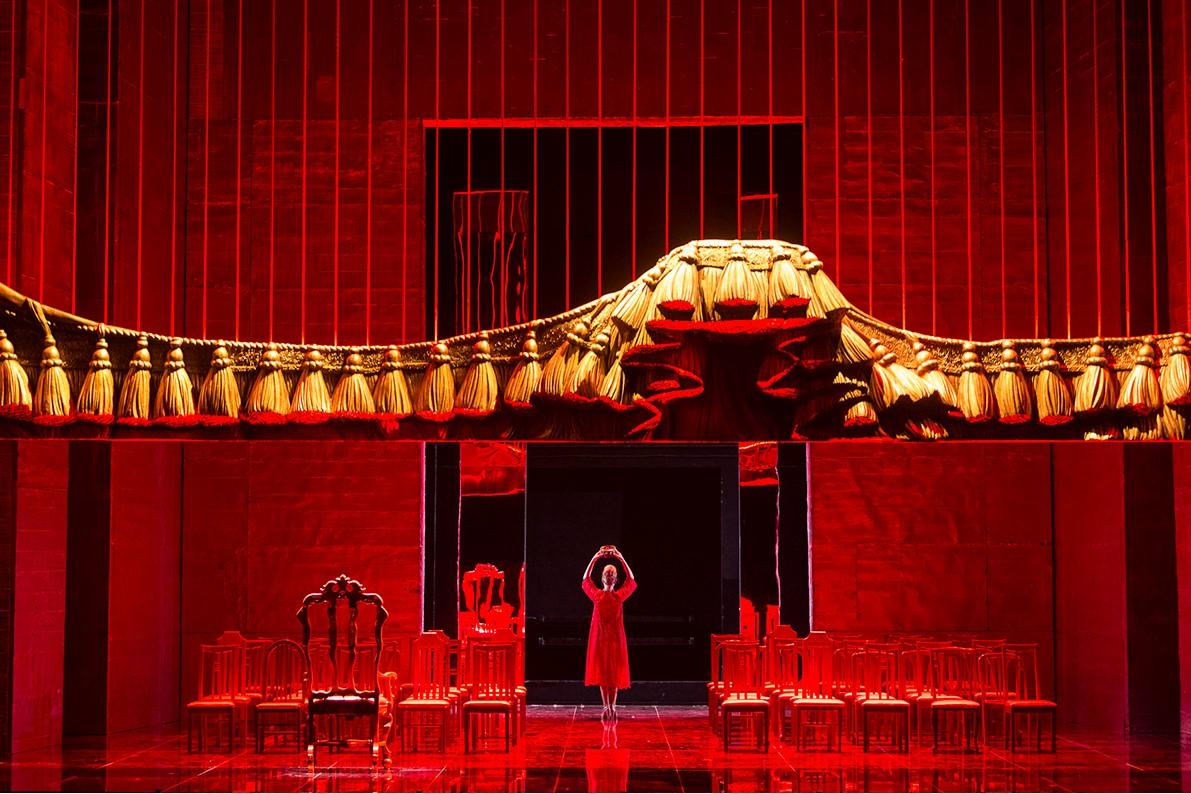 Escena de Nabucco en la Ópera de Oviedo (2015) (C) Foto-Alfonso.
