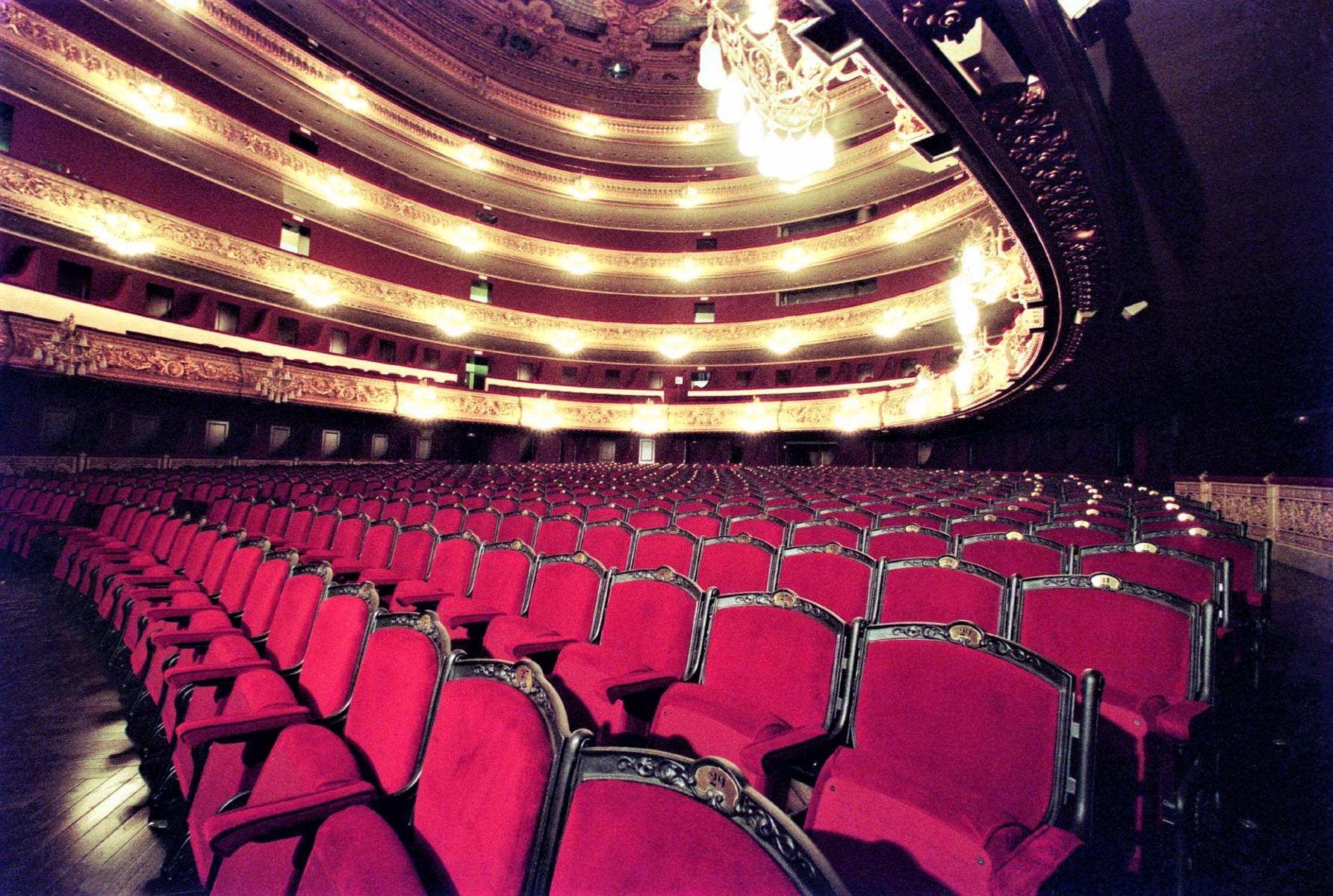 El Gran Teatre del Liceu de Barcelona (c) Gran Teatre del Liceu